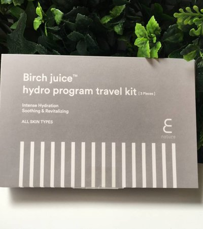 Birch Juice Program Travelkit [3 piece]