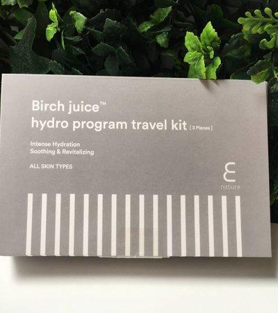 Birch Juice Program Travelkit [3 teiliges]