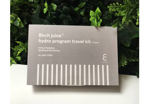 Enature Birch Juice Program Travelkit