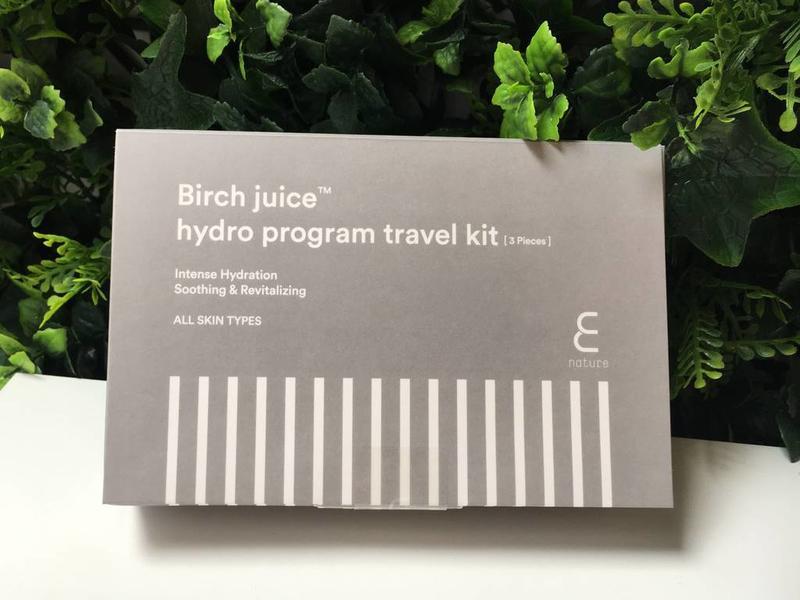 Birch Juice Program Travelkit [3 delig]