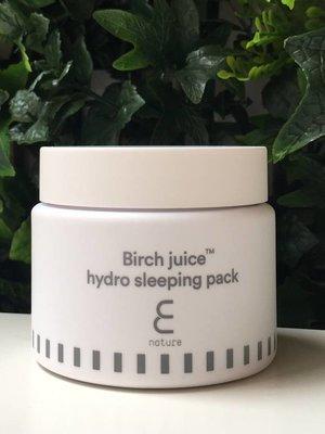 Enature Birch Juice Hydro Sleeping Pack