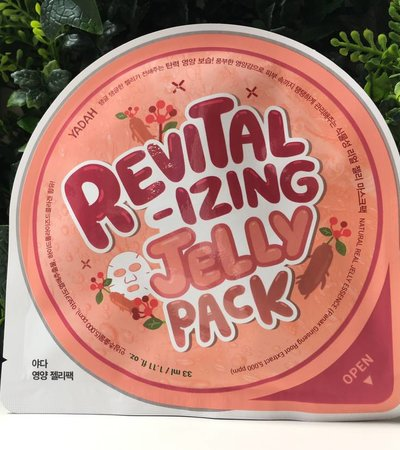 Revitalizing Jelly Pack - 33 ml