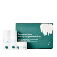 Squeeze Green Watery Program Travel Kit [3 delig]