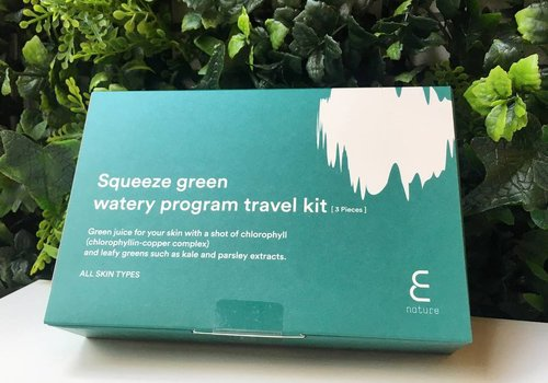 Enature Squeeze Green Watery Program Travel Kit