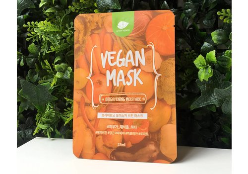 Happy Vegan Brightening Moisture Vegan Mask