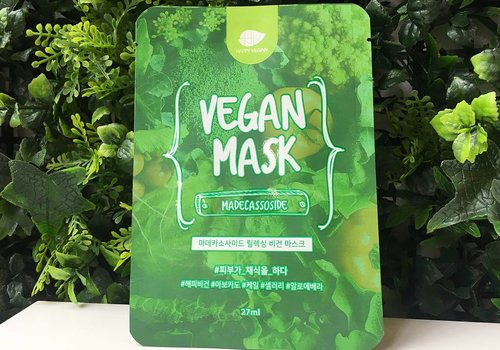 Happy Vegan Madecassoside Relaxing Vegan Mask