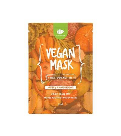 Brightening Moisture Vegan Mask - 27 ml