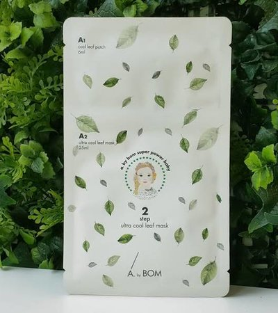 Ultra Cool Leaf Mask (6ml + 25ml x 10pcs)