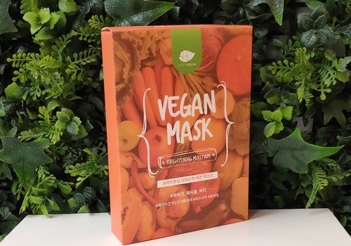 Happy Vegan Brightening Moisture Vegan Mask (5pcs)