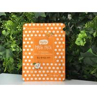 Tangerine Bright + Moist Mask Pack - 23ml
