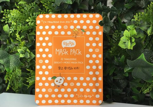 Qyo Qyo Tangerine Bright + Moist Mask Pack