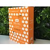 Qyo Qyo Tangerine Bright + Moist Mask Pack - 23ml (10ea)
