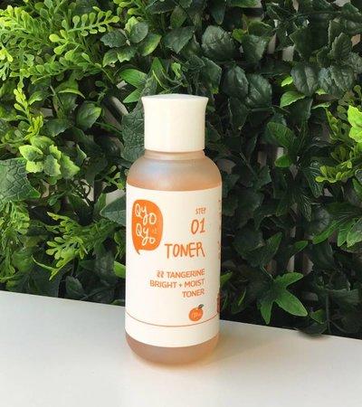 Tangerine Bright + Moist STEP 01 Toner - 120ml