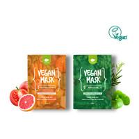 Madecassoside Relaxing Vegan Mask (27ml x 5pcs)