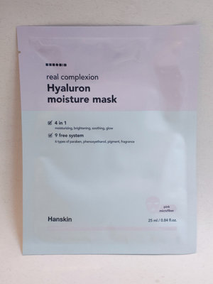 Hanskin Real Complexion Hyaluron Moisture Mask