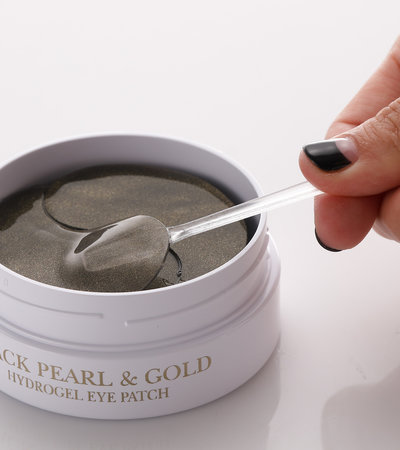 Black Pearl & Gold Hydrogel Eye Patch - 60 patches