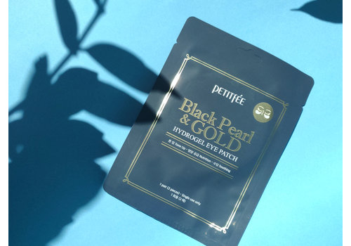 Petitfee Black Pearl & Gold Hydrogel Eye Patch (single use)
