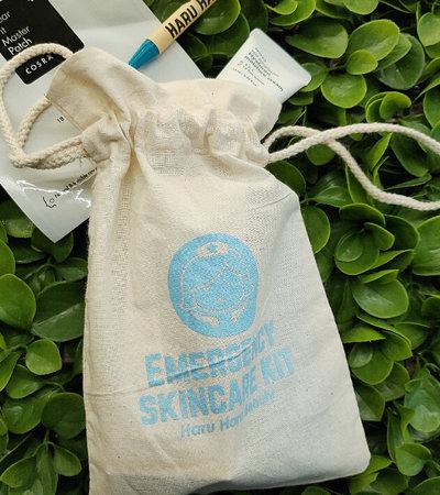 Haru pull-bag - Emergency Skincare Kit