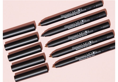 Blessedmoon Waterproof Gel Eyeliner #Brown
