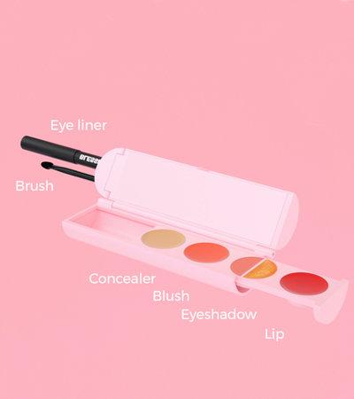 Make-up Kit Case (Babypink)
