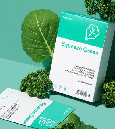 Squeeze Green Watery Sheet Mask - 25 g