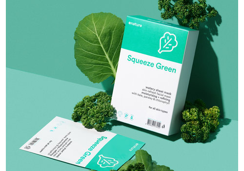 Enature Squeeze Green Watery Sheet Mask