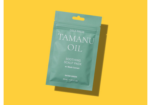Rated Green Tamanu Oil Soothing Scalp Pack W/ Black Currant