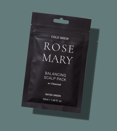Rosemary Balancing Scalp Pack W/ Charcoal - 50ml