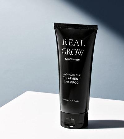 Real Grow Anti-Hair Loss Treatment Shampoo - 200ml