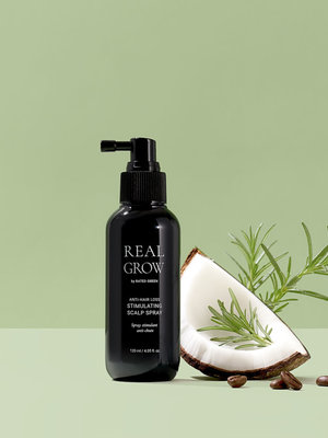 Rated Green Real Grow Anti-Hair Loss Stimulating Scalp Spray