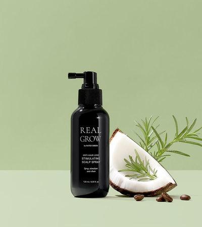 Real Grow Anti-Hair Loss Stimulating Scalp Spray - 120ml