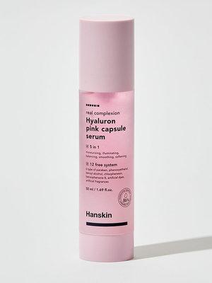 Hanskin Real Complexion Hyaluron Pink Capsule Serum
