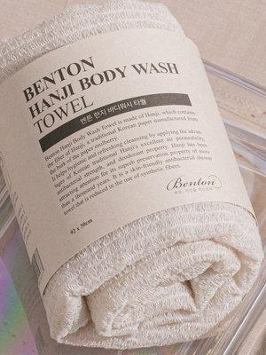Benton Hanji Body Wash Towel