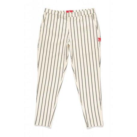 YOGI Trousers | Crème/Black