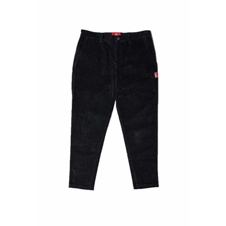 Livorem' Corduroy Trousers | Black
