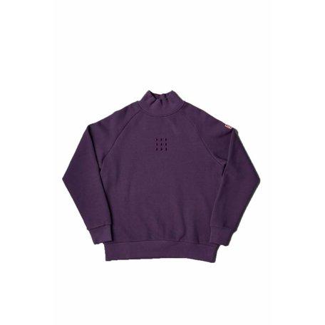 The New Originals Testudo Fleece 1.0 Sweater   Purple