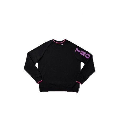 Line Groove Sweater | Black