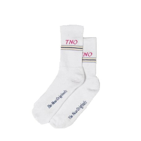 TNO Underline Socks | White