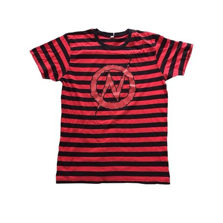 Anarchy tee | Red/Black