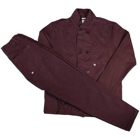 Bonne Suit | Plum Red