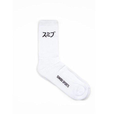 SUMIBU SPORTS Socks | White/Black