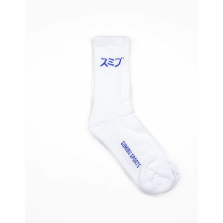 SUMIBU SPORTS Socks | White/Blue