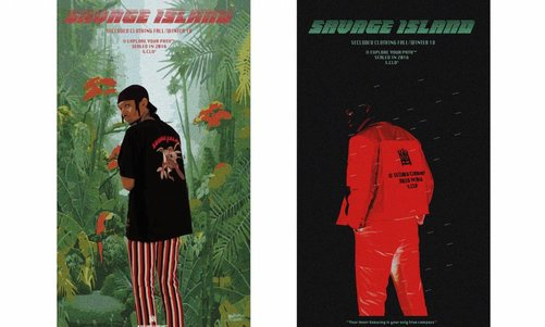 Secluded Clothing; Savage Island AW18 Exploration Campaign