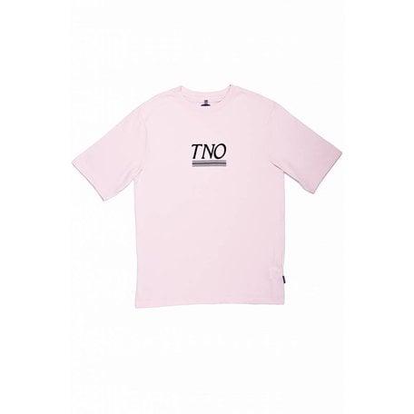 TNO Underline Tee | Pink/Blue