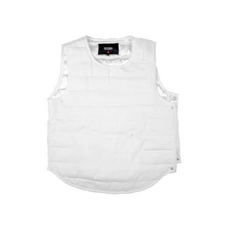 Secluded White Yakuza Vest
