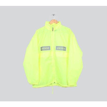 Order Reflective Windbreaker | Fluor Yellow
