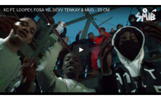 KC FT. LOOPEY, FOSA YG, DEVV TENKAY & MUG - 20 CM