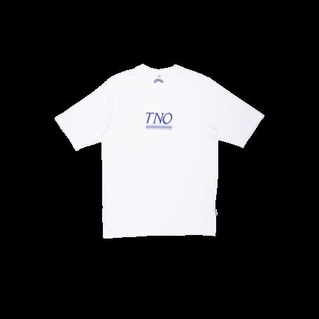 TNO Underline Tee White/Blue XS
