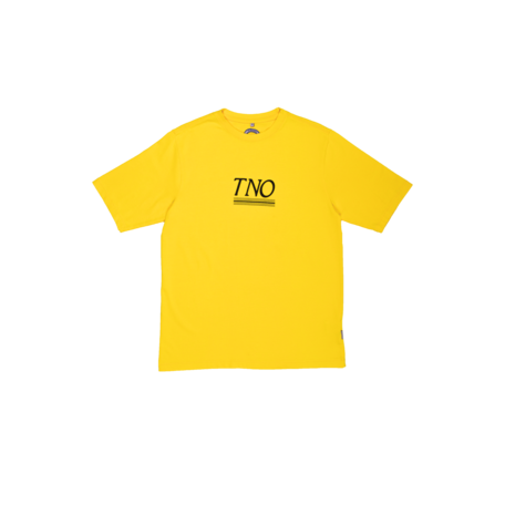 TNO Underline Tee | Yellow/Black