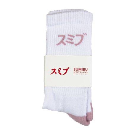 SUMIBU Tippy Toe Socks Pink